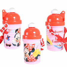 CB Pop-up Bottle with Lanyard - Back to School - Minnie Mouse