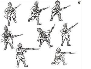 Hat WWI Indian Infantry Model Figures - 1 - Sprue - 8236