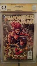 Wonder Woman #47 (Cheetah) CGC 9.8 AUTOGRAPHED by DAVID & MEREDITH FINCH