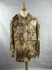 Topman Men's Stone Camouflage Long Sleeve Casual Over shirt Hoodie Size L BNWT