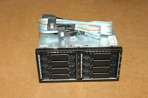 HP DL380p Gen8 / G8 Drive Cage mit Backplane / Stromkabel / SAS Kabel 670943-001