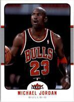 2006-07 Fleer Basketball #27 Michael Jordan Chicago Bulls