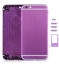 Colorful Hard Metal Back Battery Housing Cover Case Replacement 4 iPhone 6, 6+