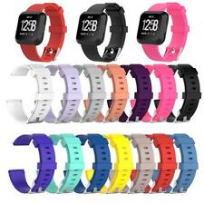 Replacement Sports Soft Silicone Watchband Smartwatch Strap For Fitbit Versa