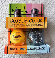 Nicole by O.P.I. DOUBLE COLOR Nail Lacquers Polish