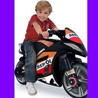 MOTO ELECTRICA REPSOL MOTOR 6V BATERIA coche bicicleta triciclo moto quad