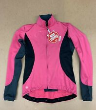 Castelli Trasparente 2 Wind Stopper LS Jersey Women's Large Pink New with Tags