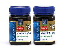 Aktiver Manukahonig MGO™ 250+ Manuka Honig aus Neuseeland, 2 x 500g, 1kg, 1000g