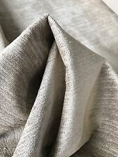 🦋A Designs~ BTY  Fabricut ~ Beige Soft Velvet Upholstery Fabric $19.99 OBO