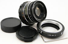 NEW INDUSTAR-61 L/D Russian Lens M39 Adapter Micro 4/3 MFT Mount Panasonic Lumix
