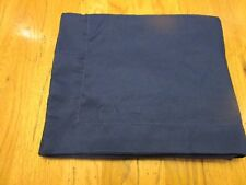 Mainstays Soft Microfiber NAVY King Pillow Sham 100% Polyester