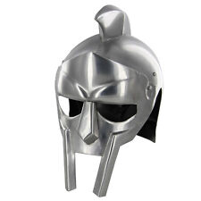 Gladiator Armor Steel Functional Helmet Hat