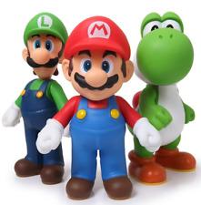 SUPER MARIO BROS Figures 3 pcs/set. (Mario, Luigi, Yoshi) 11 cm.