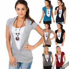 Viscose Yes Stretch Casual Tops & Shirts for Women