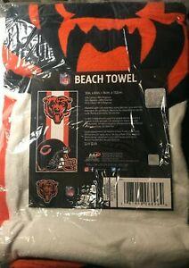 NFL Chicago Bears beach towel 30X60 New!