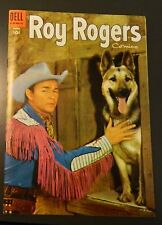 **ROY ROGERS COMICS DELL 10 CENT GOLDEN AGE WESTERN 1955 #87**