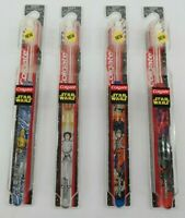 Colgate Star Wars Toothbrush Lot Luke Lea Darth Vader C3PO Lot of 4  TY