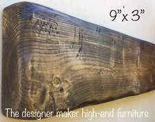 Wooden mantle mantel mantelpiece fire surround beam timber rustic floating shelf
