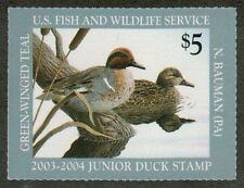 Us #Jds 11 Never Hinged Federal Junior Duck Stamp [Jds] ~ Always Free Shipping!