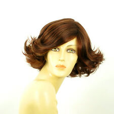 short wig women brown copper wick light blonde and red ref: JEANETTE 33H PERUK