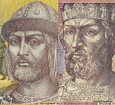 2 BILLETS NEUFS DE 1 et 2  HRYVEN . UKRAINE