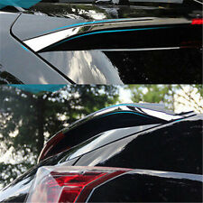 2X 304 Stainless Spoiler Rear Decorative Tail Trims For Cadillac SRX 10-15vm