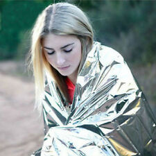 Outdoor Survival Emergency Rescue First Aid Space Foil Thermal Blanket 130*210CM