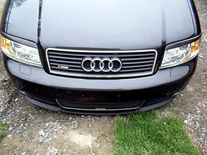 Audi A6/S6/RS6 C5 Front Bumper CUPRA R Euro Spoiler Lip Valance Splitter S Line