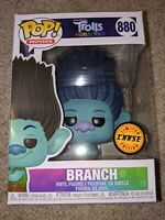 Funko Pop! Trolls World Tour Movie BRANCH Limited Chase Edition SHIPS NOW