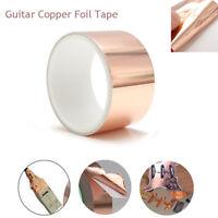 5cmX3m Guitar Copper Foil Tape Shield Electric Conduction Musical Accessory