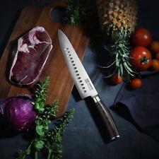 "8.5"" German steel chef knife cutter premium stainless steel meet knife cleaver"
