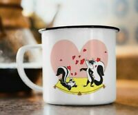 ENAMEL MUG PEPE LE PEW LOONEY TUNES VINTAGE PERFECT CHRISTMAS PRESENT -FREE POST