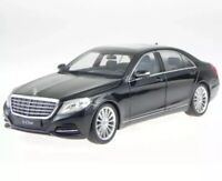 Welly 1/24 2013 Black Mercedes S-Class Die-cast Model Car 24051BLK