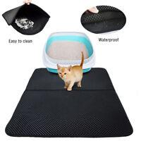 High-elastic EVA Cat Litter Mat Waterproof Double-Layer Cat Litter Trapper