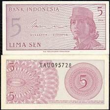 Indonesia 5 sen   1964  Pick#91 SC