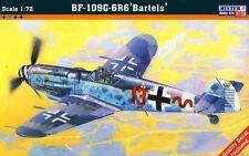Messerschmitt BF 109 G-6/R6 TROP Bartels ITALIAN AF & LUFTWAFFE 1/72 mistercraft