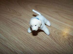 Barbie Pet Puppy Dog Golden Retriever Pup Plush Body Vinyl Head Mattel 1998 EUC