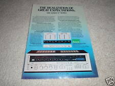 Sansui 5900Z Receiver Ad from 1982, color, specs NICE!