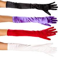 Elbow Length Gloves Opera Costume Flapper Burlesque Princess Socialite BW100-57