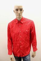 Camicia LACOSTE Uomo Shirt Chemise Camisa Blusa Man Taglia Size 41 / L