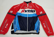 JL VELO Team Mens Bike Cycling Full Zip Long Sleeve Dry Wick Jacket Top Sz XXL