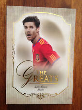 2015 Futera Unique Greats Football Soccer Card Spain XABI ALONSO Mint
