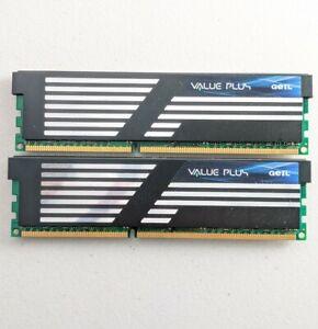 4GB kit Geil GVP34GB1333C9DC PC3-10660 1333MHz DDR3 Non-ECC Computer Memory RAM