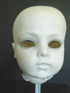Anitque Reproduction Large French Porcelain Bru Jne 11 Head Greeware Doll Making