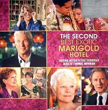 NEW The Second Best Exotic Marigold Hotel Soundtrack DELUXE 2-LP Vinyl Album 180