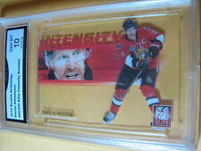 DANIEL ALFREDSSON SENATORS 2012 ROOKIE ANTHOLOGY INTENSITY ACETATE GRADED 10