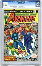 Avengers #122 CGC 9.6 NM+  off -wht pgs Zodiac App. 4/74 R.Buckler Cover B.Brown