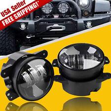 2X 4 Inch 35W LED Fog Light Driving Lamp 2400LM for Jeep Wrangler JK TJ YJ CJ