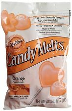 Wilton Orange Candy Melts 12-Ounce 12 ounce NEW FREE SHIPPING