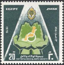 Egypt 1976 Health/Welfare/Disabled/Wheelchair/Hands/Charity 1v (n44553)